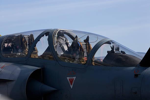 Mirage 2000 cockpit stock photo