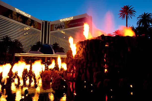 Mirage Hotel stock photo