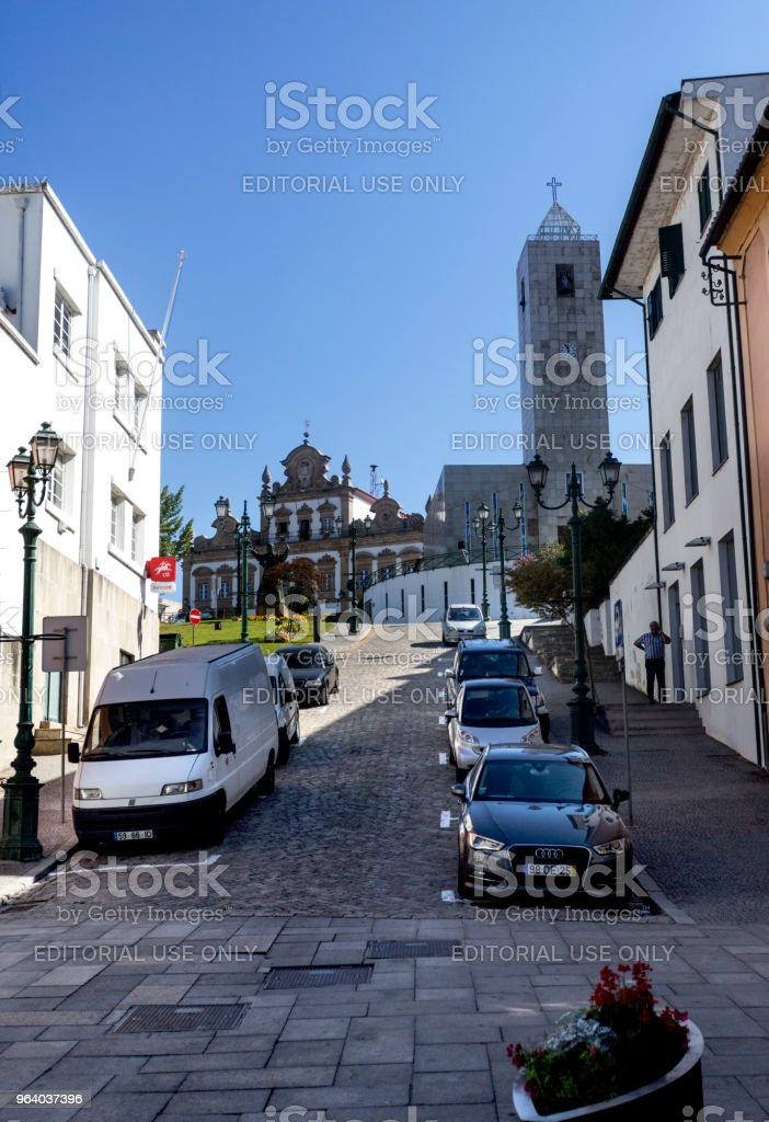 Mirandela City View - Royalty-free 2017 Stock Photo