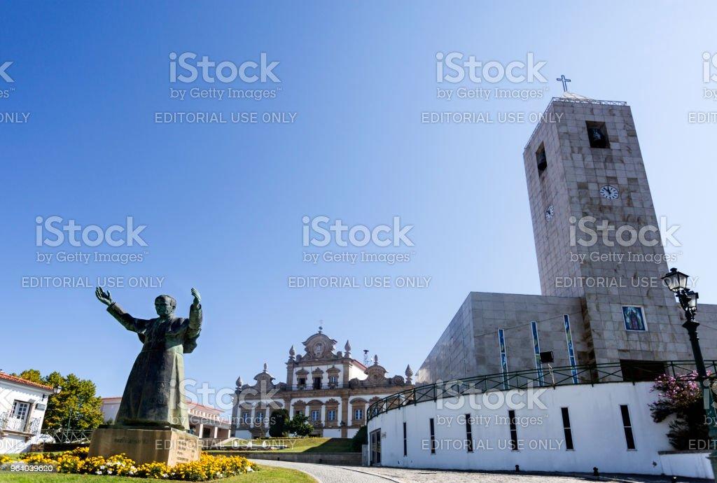 Mirandela City View - Royalty-free 2017 Stock Photo