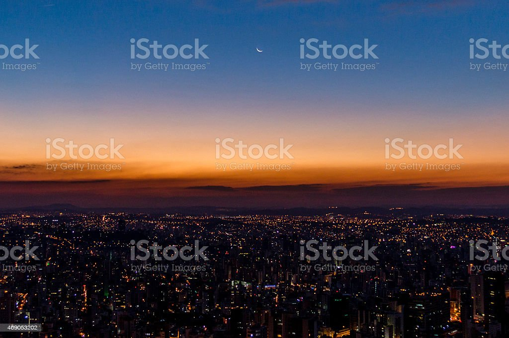 Mirante Mangabeiras - Belo Horizonte stock photo