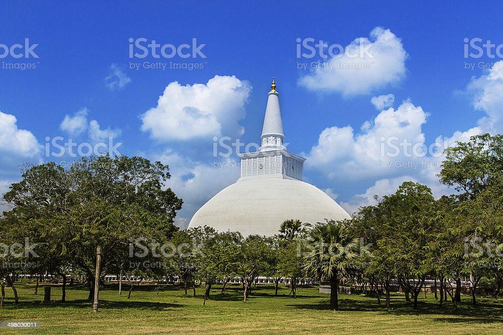 Mirisavatiya Dagoba stûpa, Anuradhapura, Sri Lanka - Photo