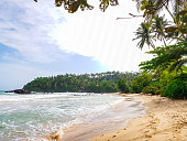 Mirissa beach in southern Sri Lanka