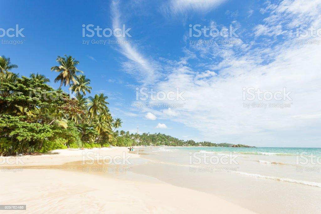 Mirissa Beach, Sri Lanka - ein Blick über den wunderschönen Strand von Mirissa – Foto