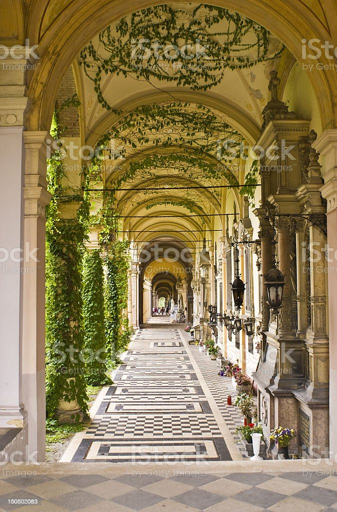 Mirogoj stock photo