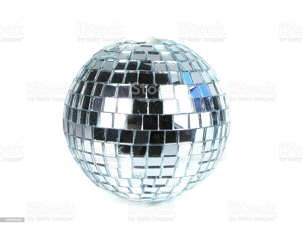 Mirror ball royalty-free stock photo