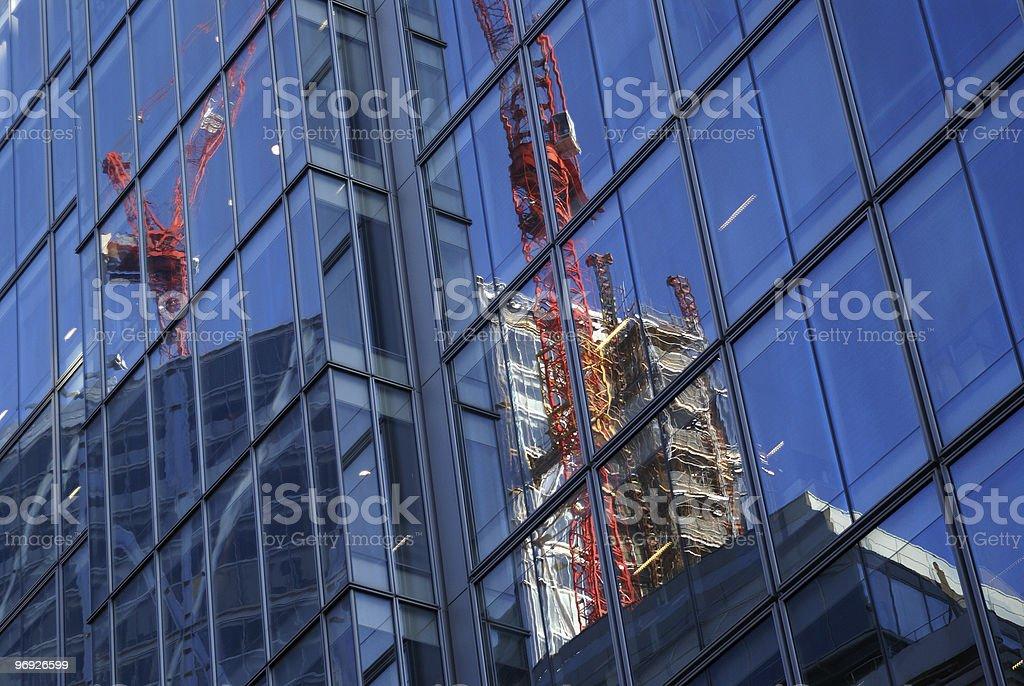 Mirror building royalty-free stock photo