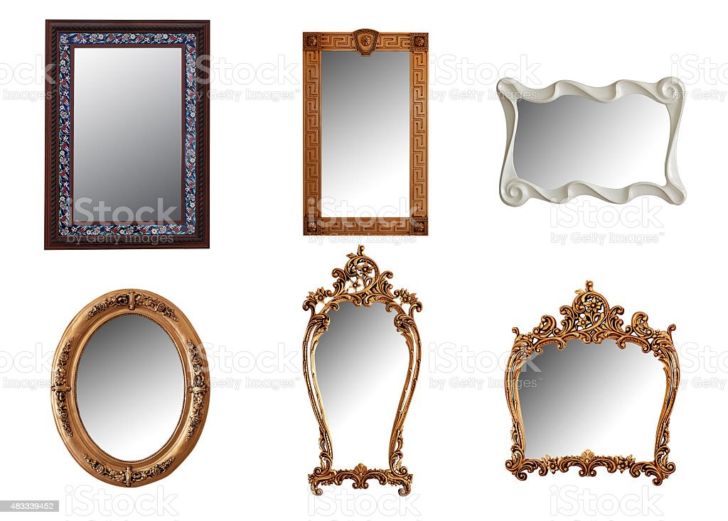 Mirror Collections stock photo