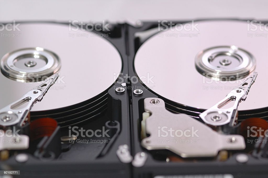 Mirror Disk royalty-free stock photo