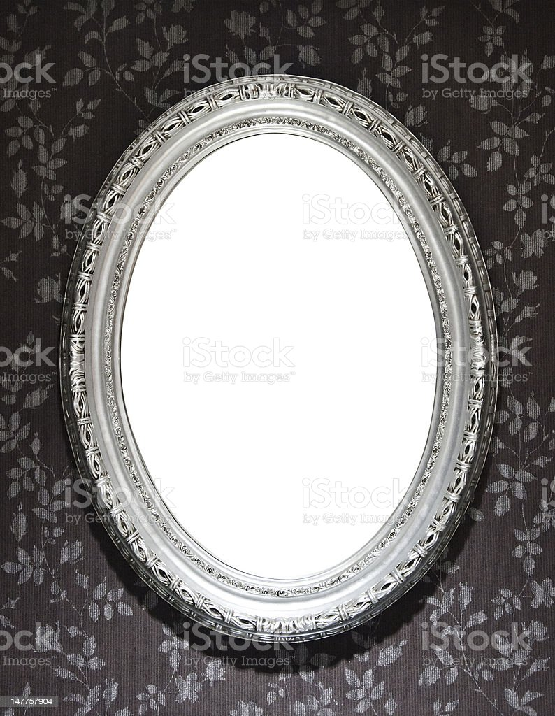 Mirror Frame stock photo
