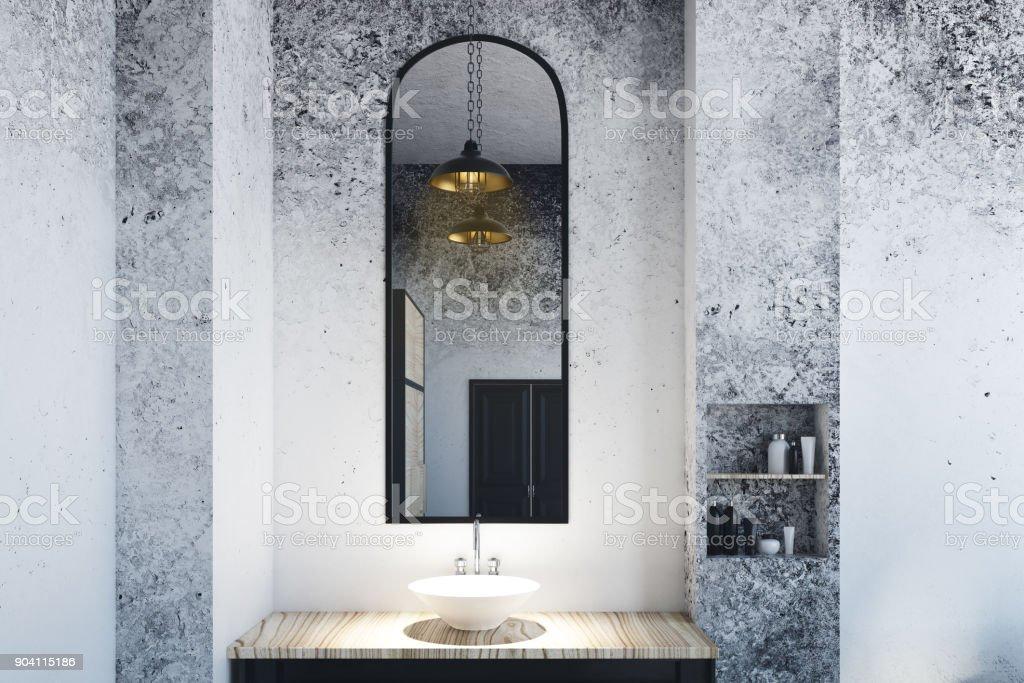 Photo libre de droit de Miroir De Salle De Bain ...