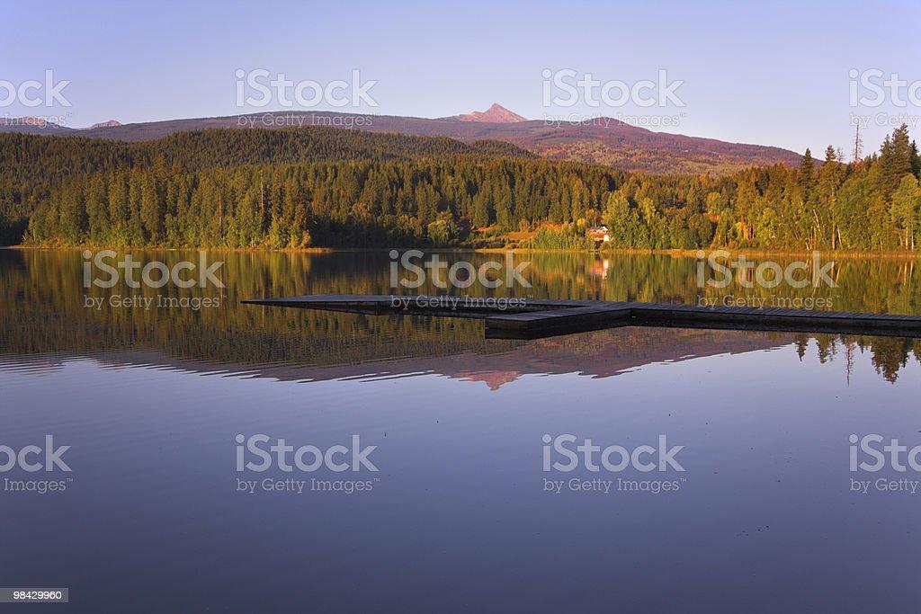 Mirror lake royalty-free stock photo