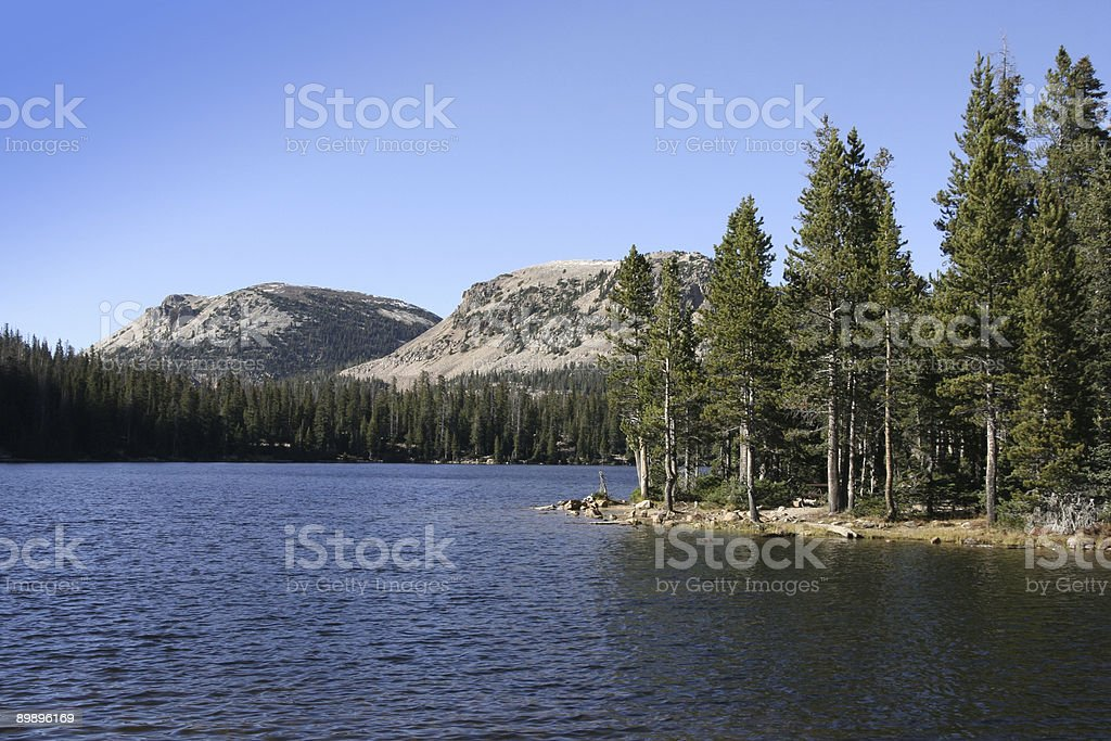Mirror lake, Utah 3 royalty-free stock photo