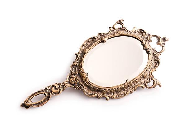 mirror - handspiegel stockfoto's en -beelden
