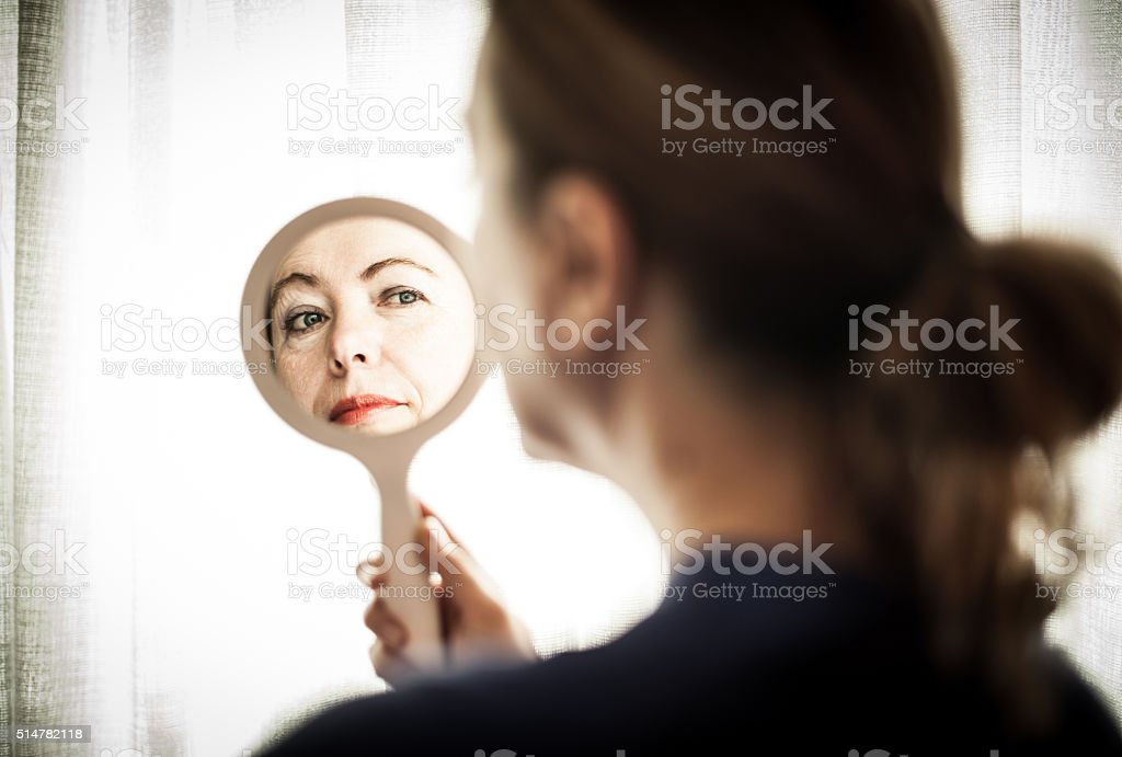 Royalty Free Holding Mirror Pictures Images and Stock Photos iStock
