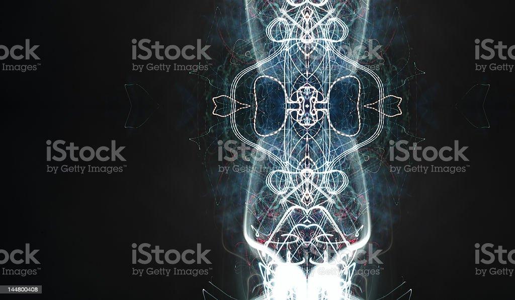 mirrored light royalty-free stock photo