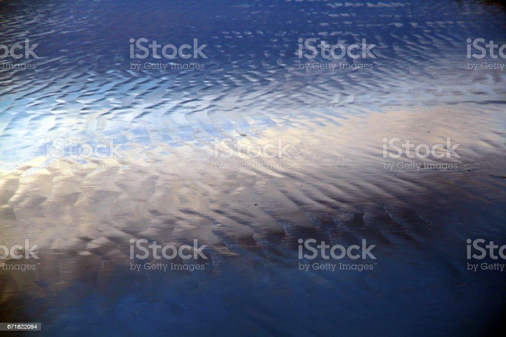 Mirrored Sheen stock photo