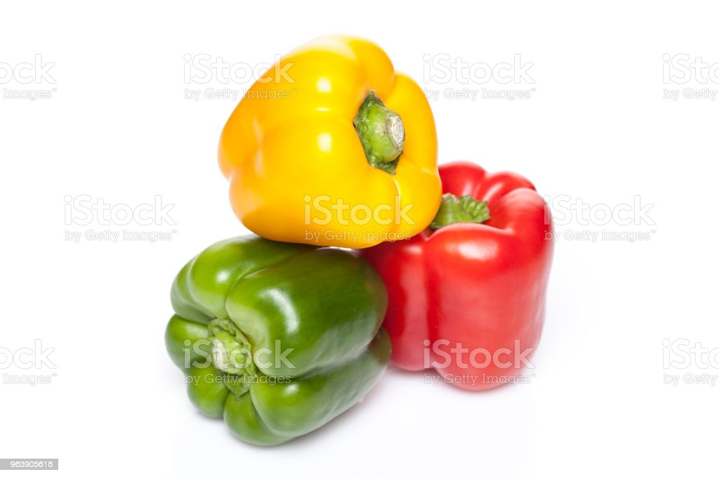 Miscellaneous colored peppers - Royalty-free Bell Pepper Stock Photo