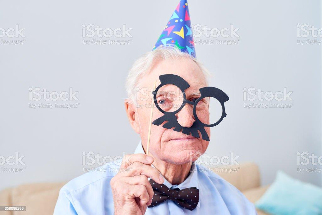 Méfait d'un homme âgé - Photo