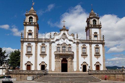 Misericórdia Church in Viseu, Portugal