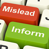 istock Mislead Inform Keys Shows Misleading Or Informative Advice 498214865