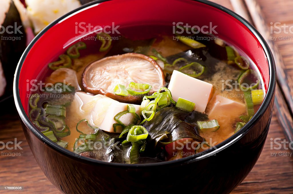 Miso Soup royalty-free stock photo