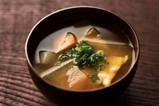 味噌汁  - 和食 ストックフォトと画像