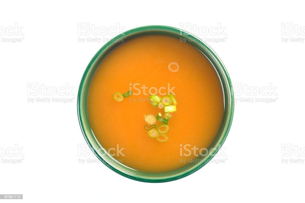 Soupe Miso photo libre de droits