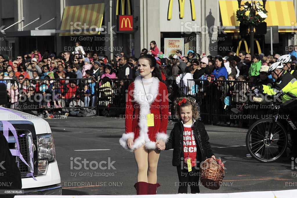 miss clause royalty-free stock photo