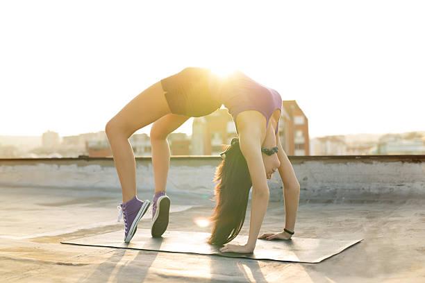 miss flexibilität - dachformen stock-fotos und bilder
