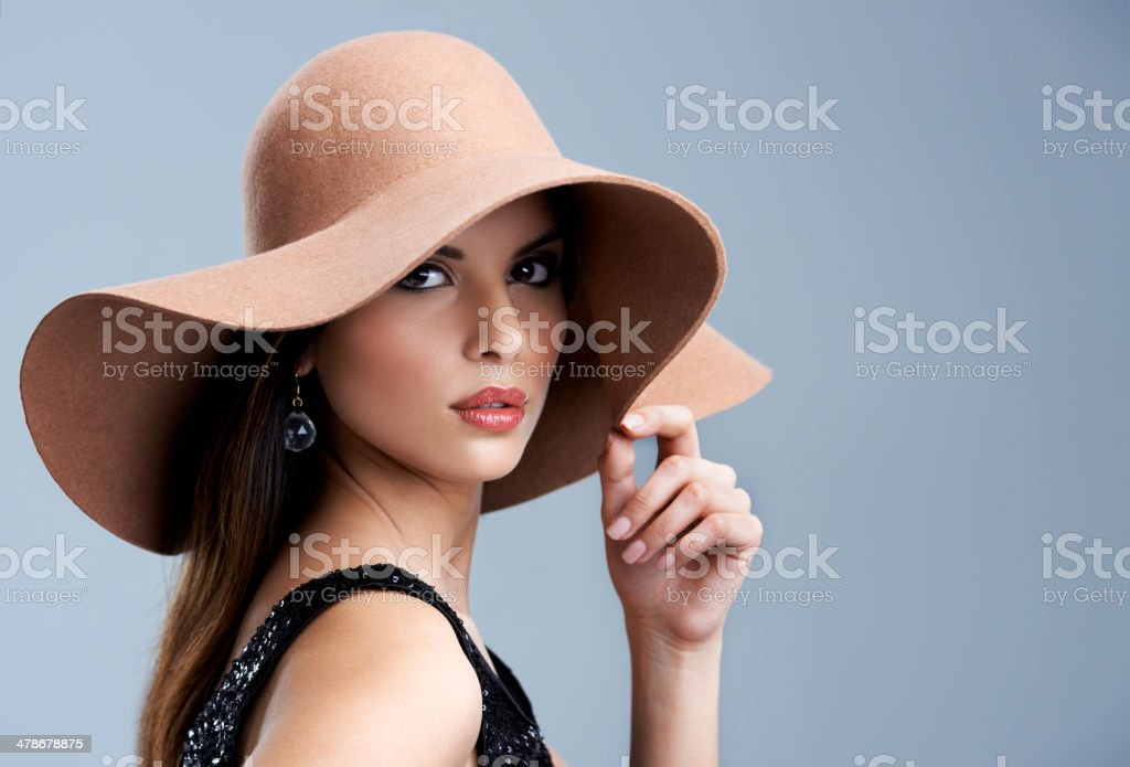 Miss Independent stock photo