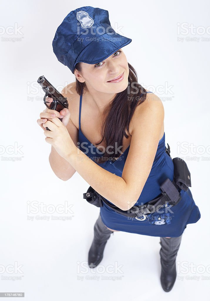 Miss justice royalty-free stock photo