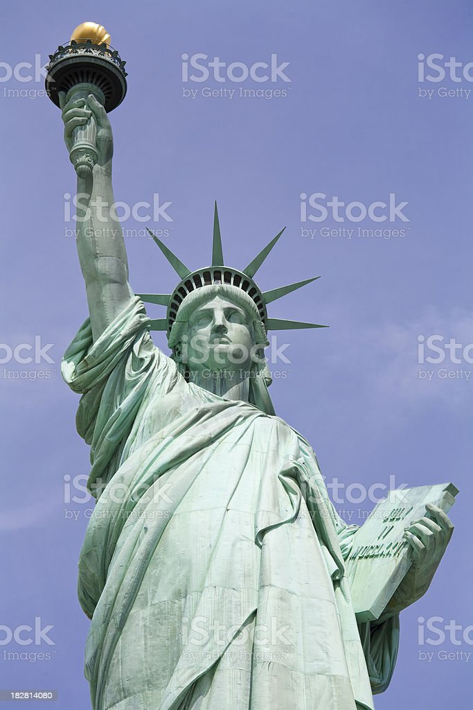 Miss Liberty royalty-free stock photo