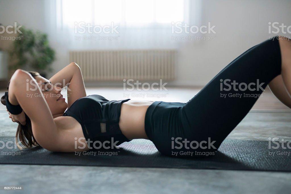 Miss Sporty stock photo