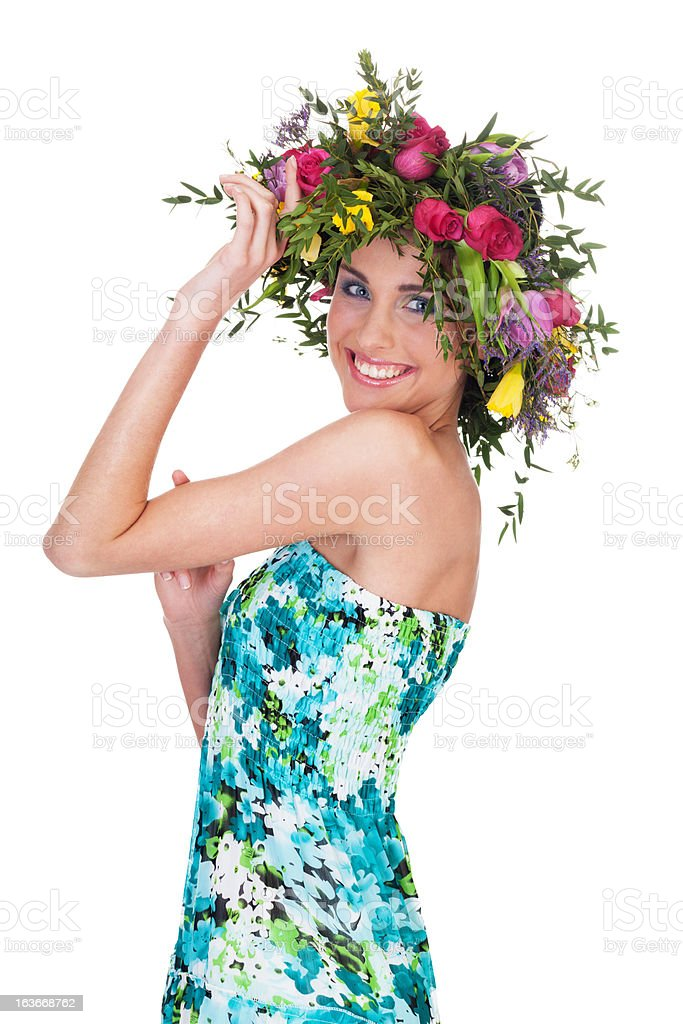 Miss spring royalty-free stock photo
