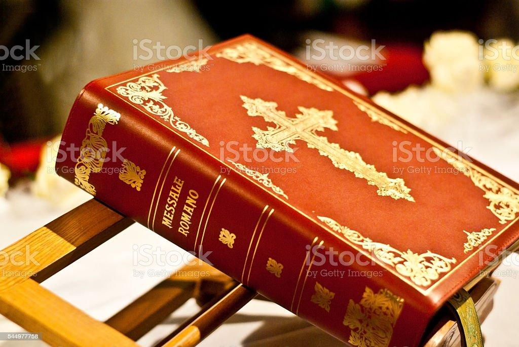missal of the Roman Catholic Church stock photo