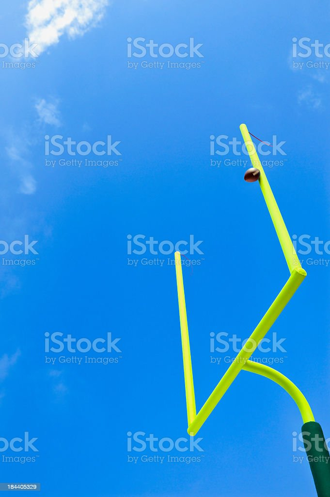 Missed Field Goal - American Football stock photo