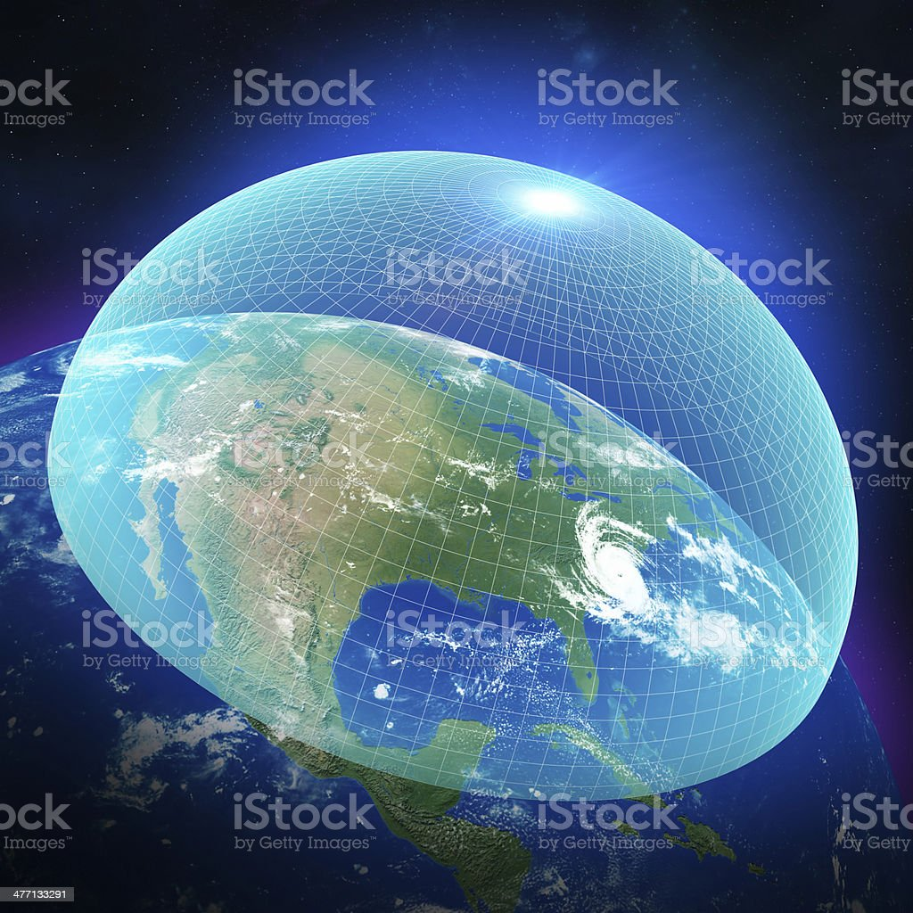USA Missile Defence System royalty-free stock photo