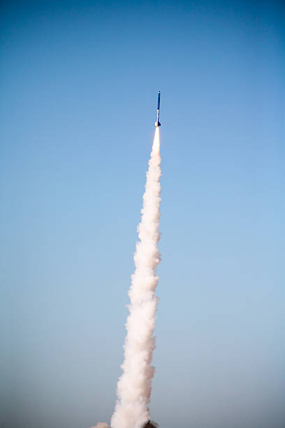 Missile Launch Rocket launch antiaircraft stock pictures, royalty-free photos & images