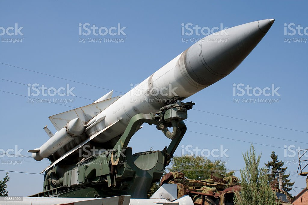 Missile royalty-free stock photo