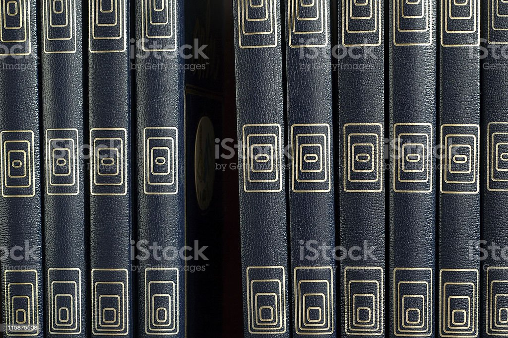 Missing book royalty-free stock photo