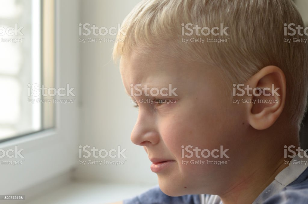Missing child. Abandoned toy. Loneliness. stock photo