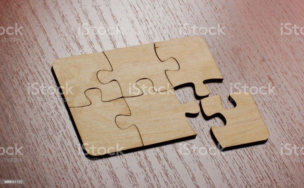 Fehlende Puzzlestücke - Lizenzfrei Abstrakt Stock-Foto