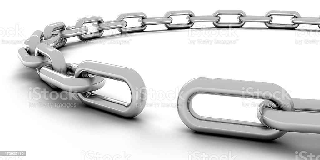 Missing link royalty-free stock photo