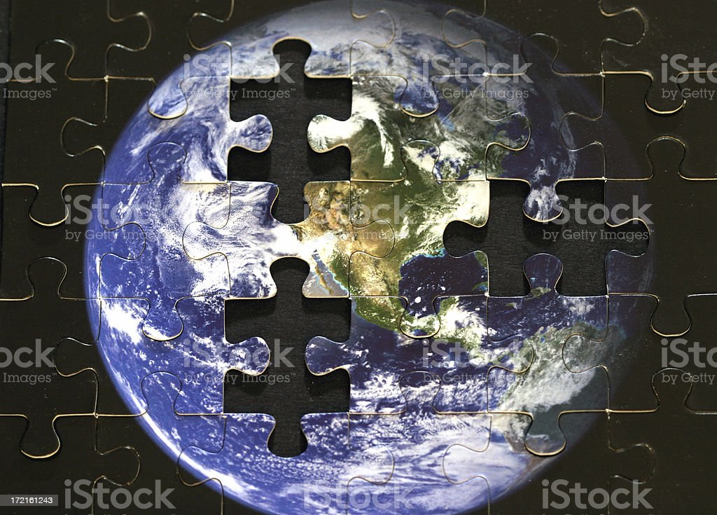 Missing Pieces royalty-free stock photo
