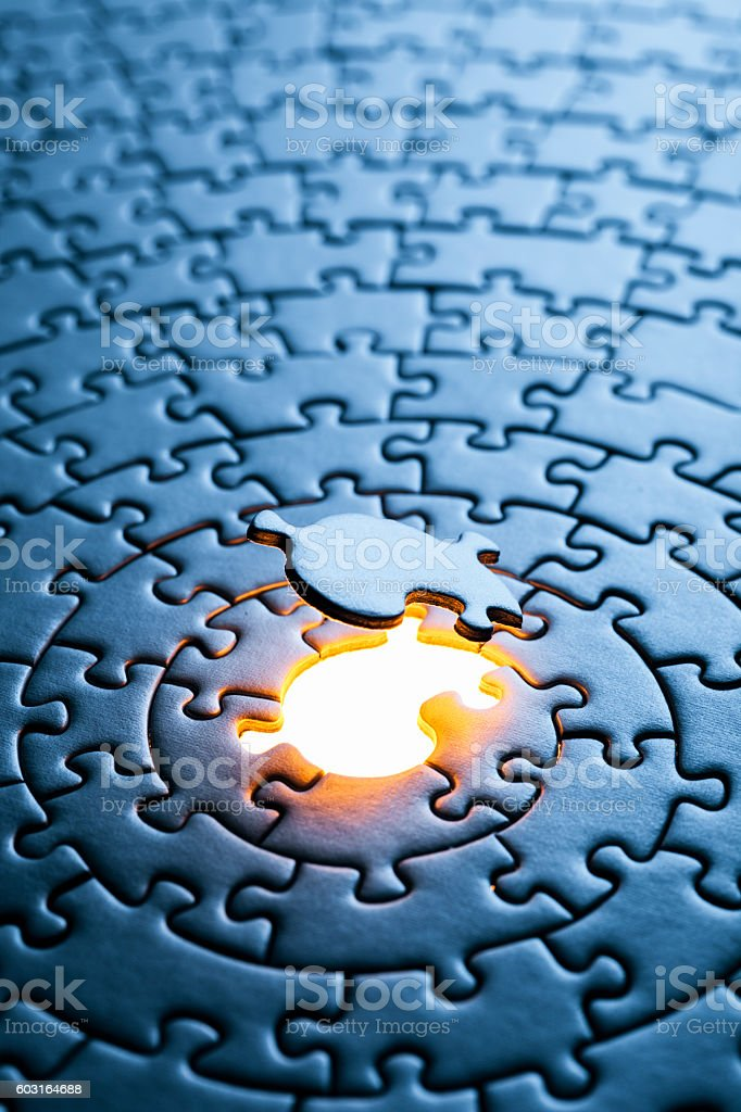 Missing Puzzle Piece Background Stock Photo & More ...