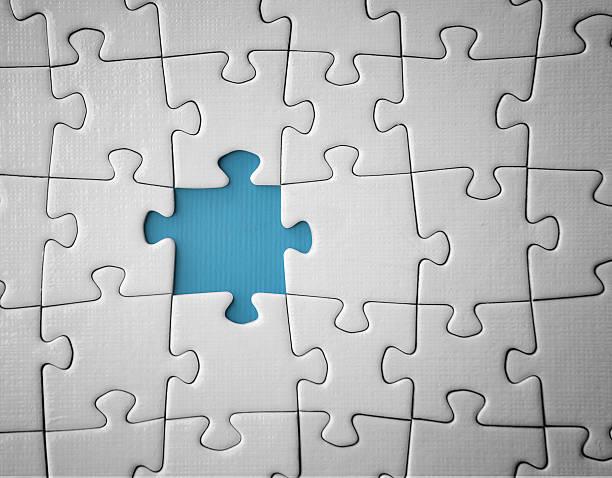 missing puzzle piece - incomplete stock pictures, royalty-free photos & images