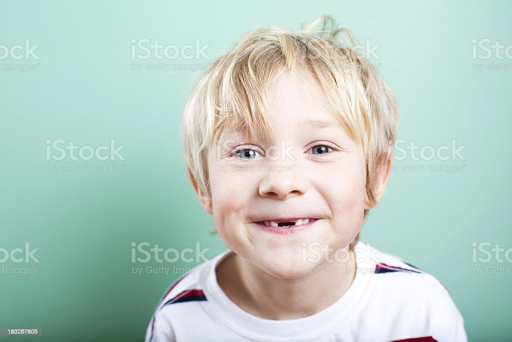 Missing Teeth stock photo