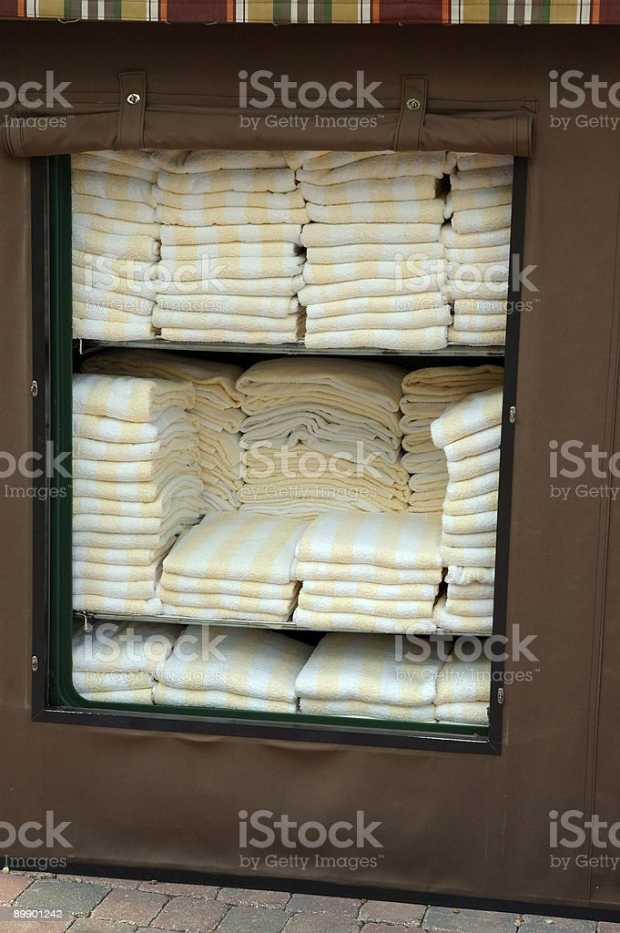 Missing Towels royalty-free stock photo