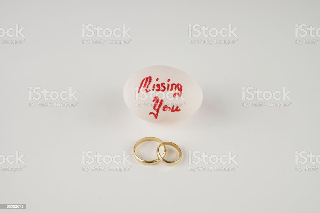 Missing You royalty-free stock photo